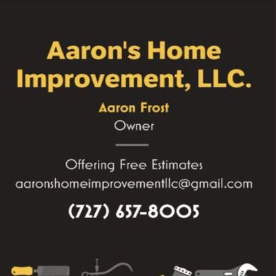 Aaron's Home Improvement, LLC. Holiday, FL Thumbtack