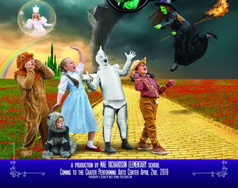 Wizard of OZ - Poster Photography & Graphic Art
