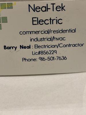 Neal-Tek Electric Sacramento, CA Thumbtack