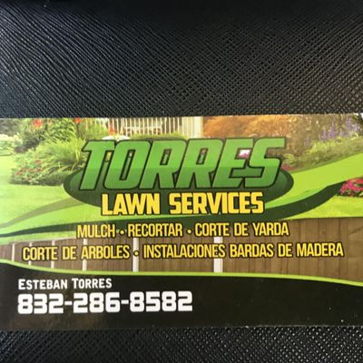 Torres lawn services Houston, TX Thumbtack