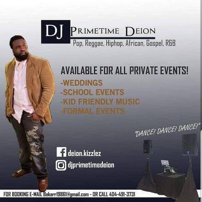 DJ PrimeTimeDeion Atlanta, GA Thumbtack