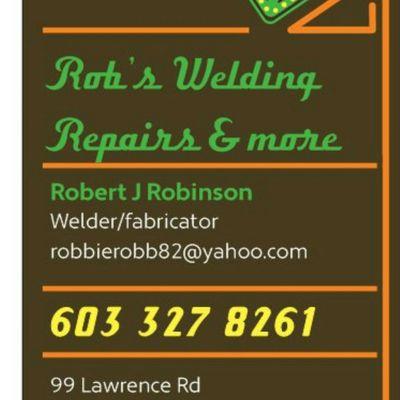 Rob's welding repairs & more LLC Salem, NH Thumbtack
