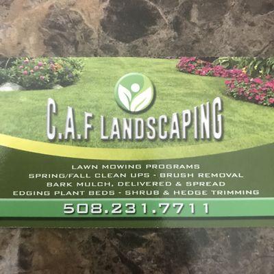 Caf landscaping Milford, MA Thumbtack