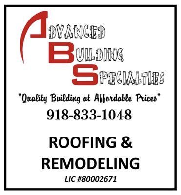Advanced Building Specialties Sand Springs, OK Thumbtack