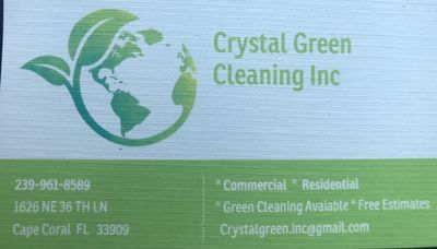 Crystal Green Cleaning Inc Cape Coral, FL Thumbtack