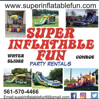 SUPER INFLATABLE FUN Lake Worth, FL Thumbtack