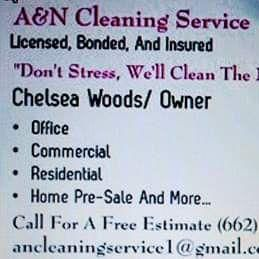 A & N Cleaning Service Southaven, MS Thumbtack