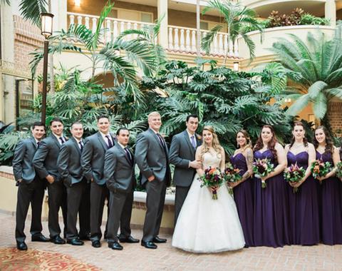 Embassy Suites Wedding