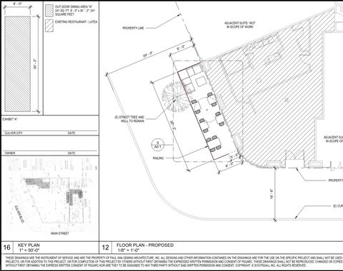 LATEA - Commercial - exterior seating permit
