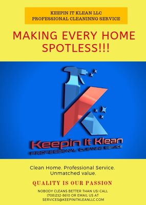 Keepin it Klean LLC Matteson, IL Thumbtack