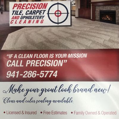 Precision tile, Carpet and Upholstery Cleaning North Port, FL Thumbtack
