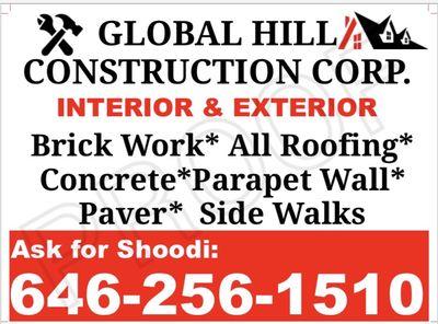 Global Hill Constructions Bronx, NY Thumbtack