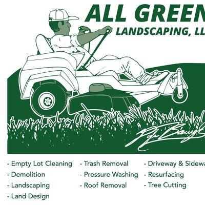 All Green Landscaping LLC Weaver, AL Thumbtack