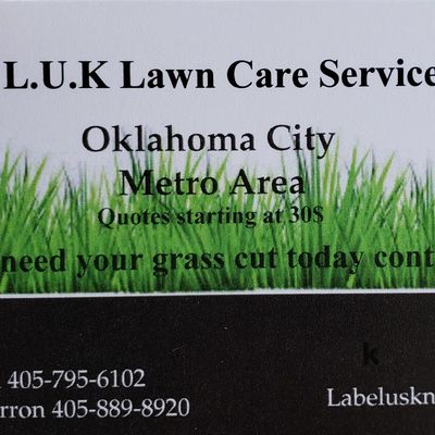 Label Us Knot Lawn Care /House Cleaning Oklahoma City, OK Thumbtack