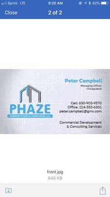 Phaze Construction and Consulting LLC Schaumburg, IL Thumbtack