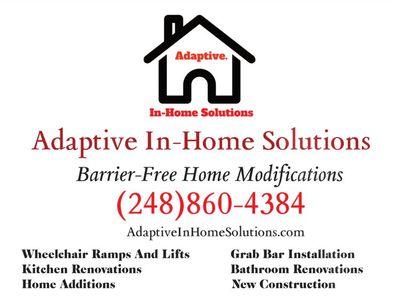 Adaptive In-Home Solutions Clarkston, MI Thumbtack