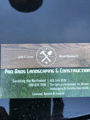 Pro Bros Landscaping & Construction Marysville, WA Thumbtack