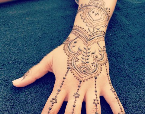 Elaborate Henna Tattoos