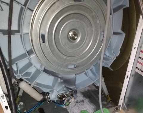 Bosch motor rebuild and door gasket replacement