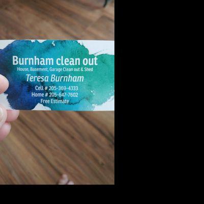 Burnham Clean Out Kimberly, AL Thumbtack