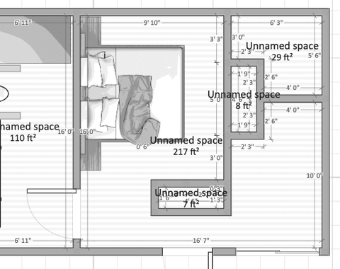Master Bed Room Suite Addition