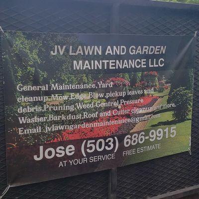 JV LAWN AND GARDEN MAINTENANCE,LLC. Tualatin, OR Thumbtack