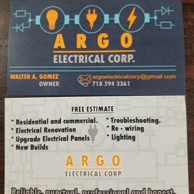 ARGO  ELECTRICAL CORP New York, NY Thumbtack