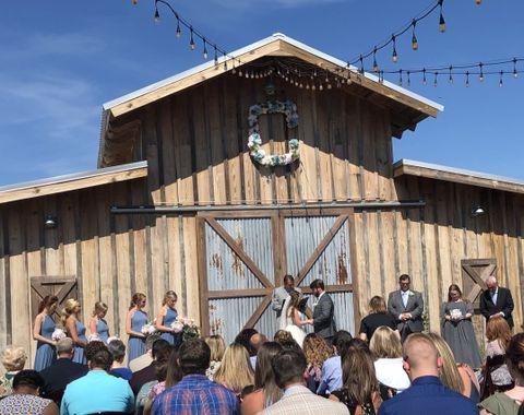 Barn Wedding Officiant