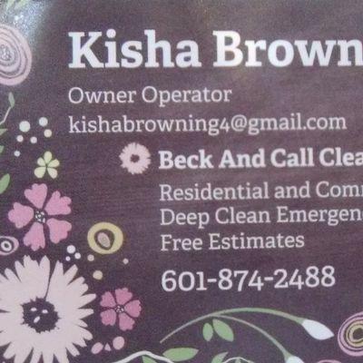 Premier property management.     Beck n call maids Madison, MS Thumbtack