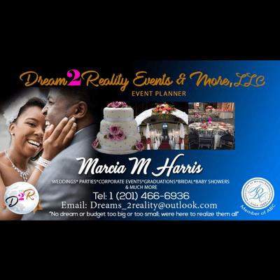 Dreams2Reality Wedding, Events & More Union, NJ Thumbtack