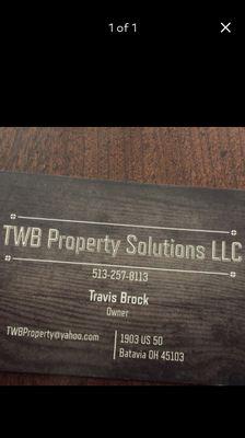 TWB Property Solutions LLC Batavia, OH Thumbtack