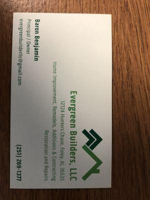 Evergreen Builders LLC Foley, AL Thumbtack