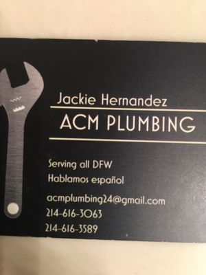 ACM Plumbing Dallas, TX Thumbtack