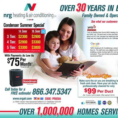 NRG Heating & Air Conditioning Canoga Park, CA Thumbtack