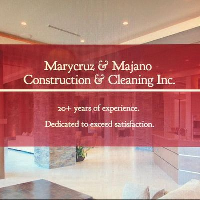 Marycruz & Majano Construction & Cleaning Inc Hyattsville, MD Thumbtack