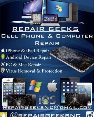 Repair Geeks NC Knightdale, NC Thumbtack