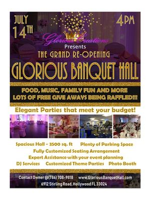 Glorious Creations Events Hollywood, FL Thumbtack