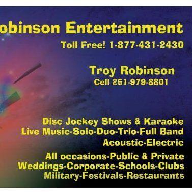 Robinson Entertaiment Robertsdale, AL Thumbtack