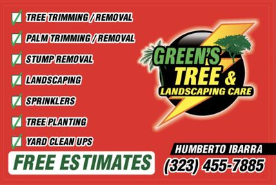 Greens tree & landscaping care South Gate, CA Thumbtack