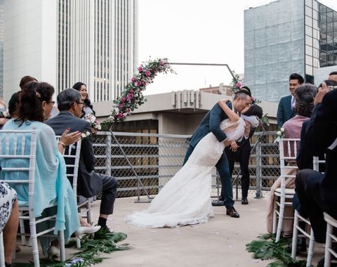 Emily & Christian's Wilshire Loft Wedding