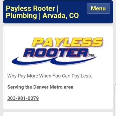 Payless Rooter / 303 Plumbing Arvada, CO Thumbtack