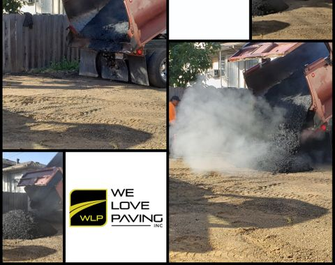 Asphalt Paving at Apartments