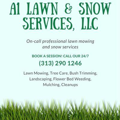 A1 lawn & snow services Dearborn, MI Thumbtack