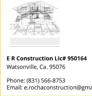 ER CONSTRUCTION Watsonville, CA Thumbtack