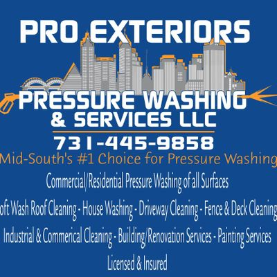 Pro Exteriors Pressure Washing and Services LLC Memphis, TN Thumbtack