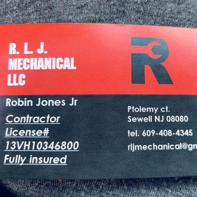 R. L. J. Mechanical LLC Sewell, NJ Thumbtack