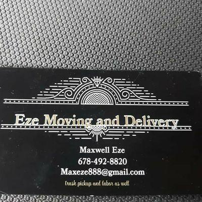 Eze moving and delivery Atlanta, GA Thumbtack