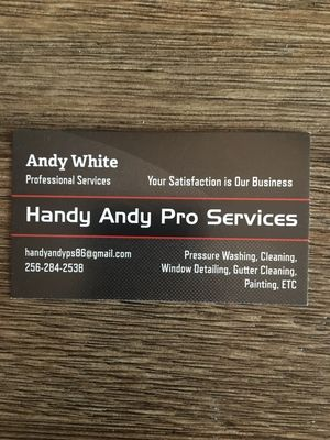 Handy Andy Pro Services Muscle Shoals, AL Thumbtack