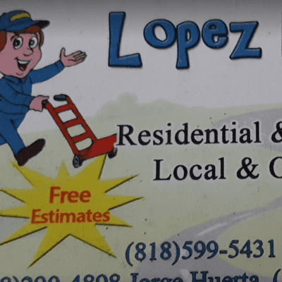 Lopez moving.company local&residel&out Van Nuys, CA Thumbtack