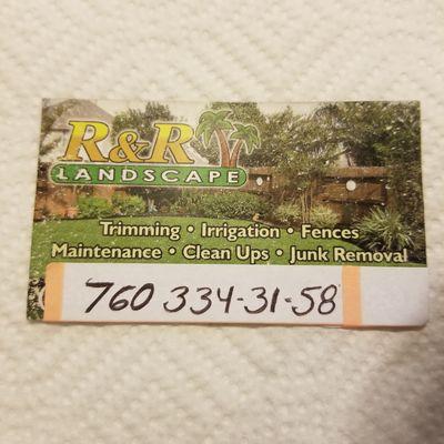 RACIEL R. (R&R) Landscape Services Escondido, CA Thumbtack